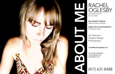 The portfolio of Rachel Oglesby. Creative Direction + Web Design + Photography