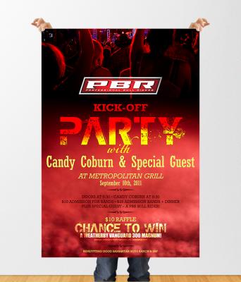 Rachel Oglesby Poster Design Candy Coburn Concert