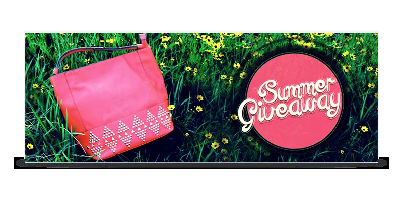 Rachel Oglesby Summer Giveaway Banner Design